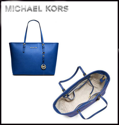 Michael Kors トートバッグ MICHAEL KORS★JET SET MEDIUM TRAVEL TOP ZIP TOTE 国内発送!(17)