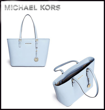 Michael Kors トートバッグ MICHAEL KORS★JET SET MEDIUM TRAVEL TOP ZIP TOTE 国内発送!(9)