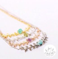 ROCKME JEWELRY(ロックミージュエリー) ネックレス・ペンダント 天然石アクセ☆rock me jewelry☆リーフストーンネックレス