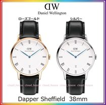 送料関税込☆Daniel Wellington 38mm Dapper Sheffield/国内発送