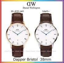 送料関税込☆Daniel Wellington  38mm  Dapper Bristol/国内発送