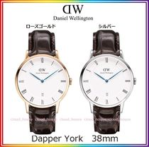送料関税込☆Daniel Wellington  38mm Dapper York /国内発送