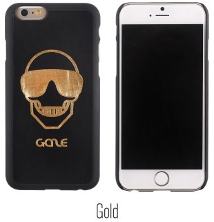 SMART  CASE/上級ブランド/IPHONE6/Skull Engraved BackCover