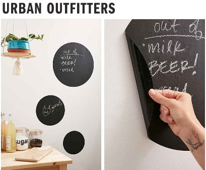 Urban Outfitters*Write-On Circlesウォールステッカーセット♪