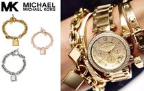 SALE!! ★Michael Kors Chain and Logo Padlock ブレスレット★
