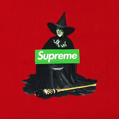 SUPREME×UNDERCOVER WITCH T 赤 size MEDIUM