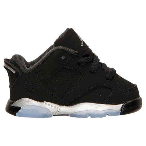 SS15 AIR JORDAN RETRO 6 LOW TD CHROME BLACK クローム送料無料