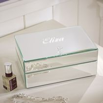 補償便☆Pottery Barn☆Mirrored Jewelry Box