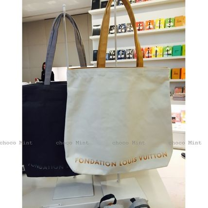 Louis Vuitton トートバッグ パリ限定♪ファンダシオンルイヴィトン美術館トートバッグ(8)