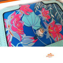 HERMES 2015限定 超レア ソワクール コンパクト財布 Soie-Cool