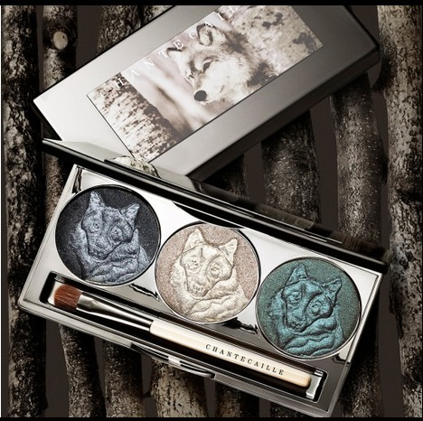 【Chantecaille】Protect the Wolves Eye Shade Trio【限定】