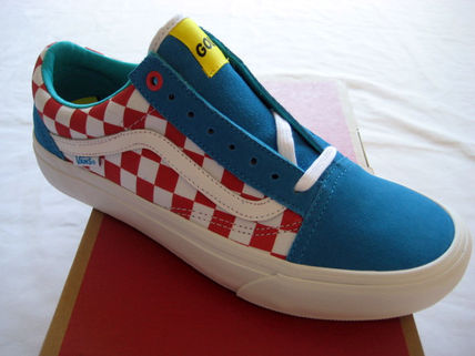15 Vans Old Skool Pro Classics x GOLF WANG Odd Future青赤白