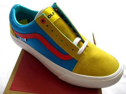 15 Vans Old Skool Pro Classics x GOLF WANG Odd Future 黄色
