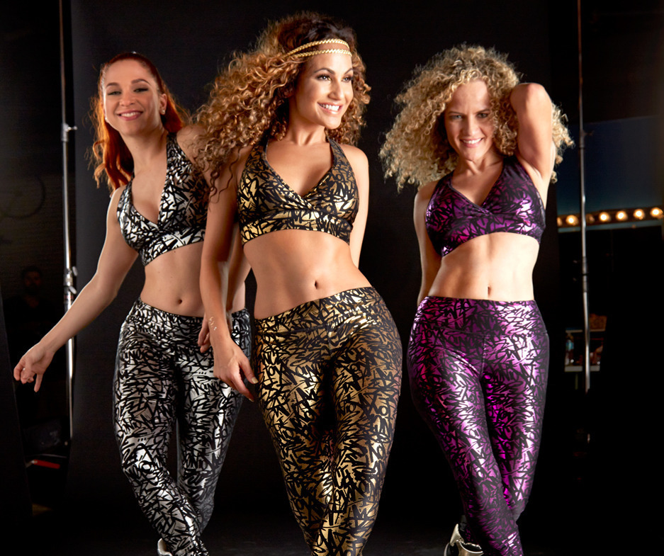 9月☆【ZUMBA】Find Your Shine Perfect Long Leggings Z1B00473