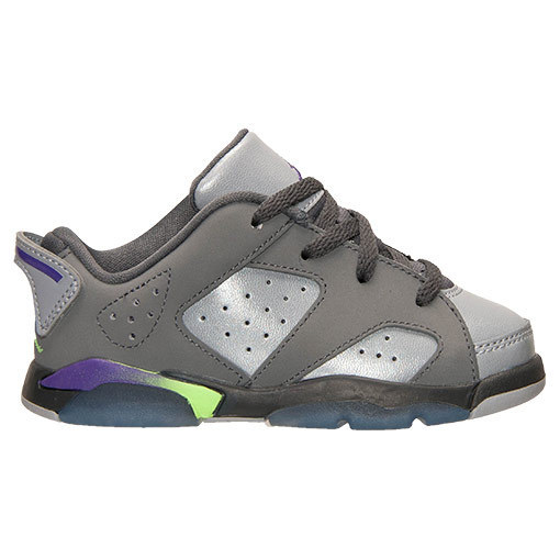 FW15 AIR JORDAN RETRO 6 LOW DARK GREY TD 10-16cm送料無料