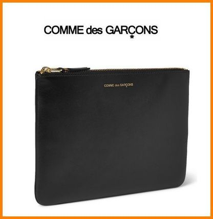 COMME des GARCONS クラッチバッグ 【国内発送】 COMME DES GARCONS レザー ポーチ