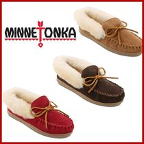【MINNETONKA】Alpine Sheepskin Moccasin スリッポン♪