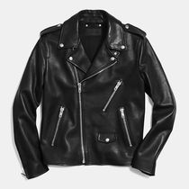 ☆COACH☆Leather MOTORCYCLE jacket