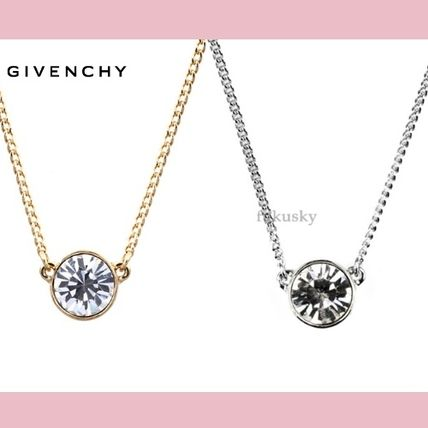GIVENCHY ネックレス・ペンダント 【GIVENCHY】送料込★ひと粒スワロフスキー・ネックレス3色