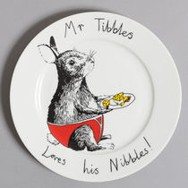 Jim Bobart プレート お皿【送料無料】Mr TribblesLoves JIMB013