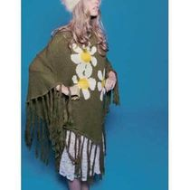 Wildfox Couture(ワイルドフォックスクチュール) ポンチョ・ケープ 即納Wildfox  JANIS DAISIES WOODSTOCK PONCHO WIL318F02GR