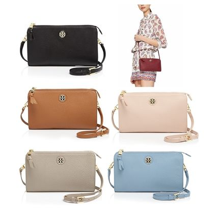 Tory Burch ショルダーバッグ・ポシェット ☆Tory Burch☆Robinson PEBBLED WALLET CROSS-BODY☆多色あり