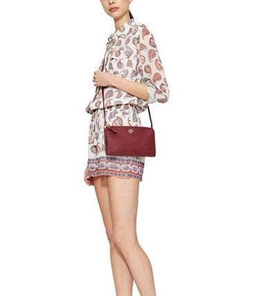 Tory Burch ショルダーバッグ・ポシェット ☆Tory Burch☆Robinson PEBBLED WALLET CROSS-BODY☆多色あり(11)