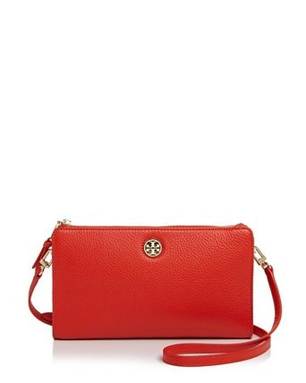 Tory Burch ショルダーバッグ・ポシェット ☆Tory Burch☆Robinson PEBBLED WALLET CROSS-BODY☆多色あり(14)