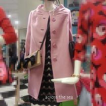 追跡付き★Kate Spade★etta coat day disco ピンクコート