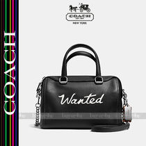 COACH★セール価格☆WANTED SURREY SATCHEL IN LEATHER♪