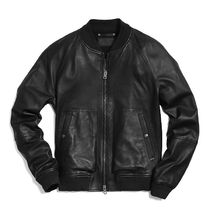 ☆COACH☆LEATHER AVIATOR JACKET
