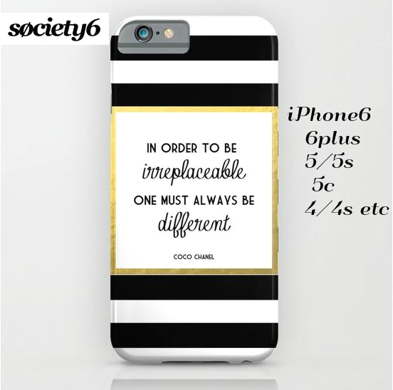 【送料込】 Society6  Coco Gold  iPhoneケース