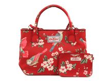 CathKidston 516266 Embossed Mini Tote British Birds Berry