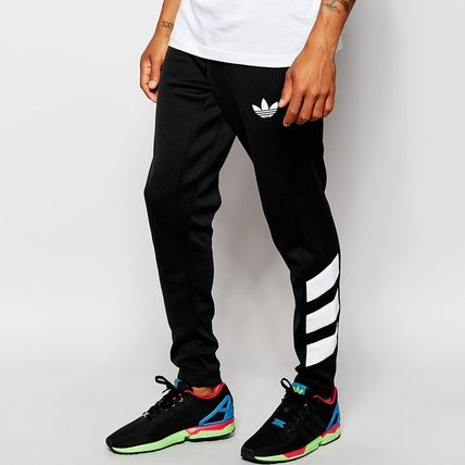 sold out inevitable adidas Skinny pants joggers track pants