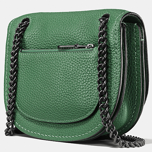 COACH★セール価格☆SMALL SHADOW CROSSBODY IN PEBBLE LEATHER