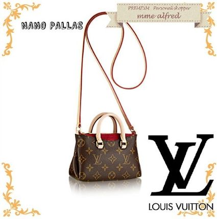 Louis Louis Vuitton Nano Palace shoulder back