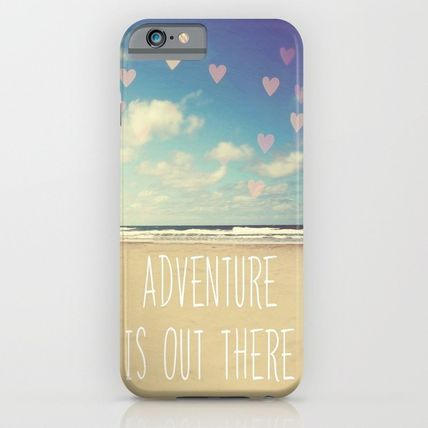 Society6 iPhone・スマホケース Society6 iPhone adventure is out there ケース