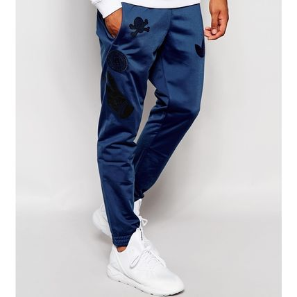 sold out inevitable adidas BADGE Skinny pants joggers track