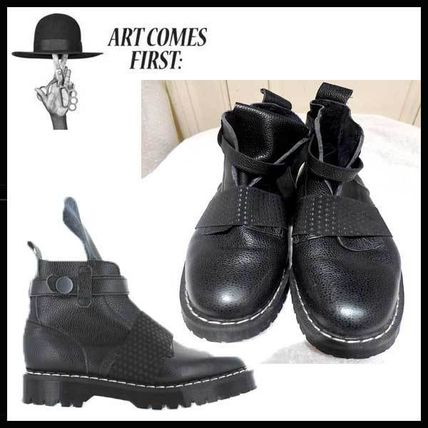ACF★Art Comes First RUDIE BOOTS 革靴 ブーツ 黒