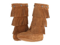 即発!Minnetonka kids★3-Layer Fringe Boot:14.0/16.0㎝