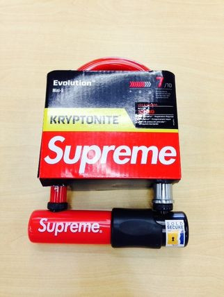 15FW即発 追尾/関税込☆Supreme kryptonite u -lock