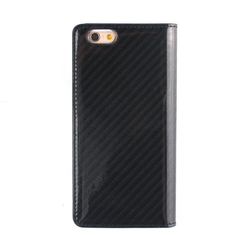 ♪iPhone6s/6 ケース 手帳型 GAZE Carbon Gray Diary ゲイズ♪