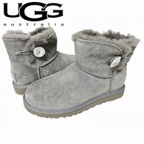 新入荷!☆★UGG Australia★☆ Mini Bailey Button Bling - Gry