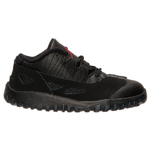 FW15 AIR JORDAN RETRO 11 LOW TD BLACK CAT 10-16cm 送料無料