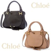 1516AW【CHLOE】MARCIE LEATHER TOTE BAG 2色