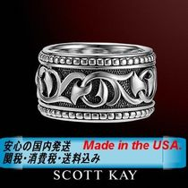 SCOTT KAY(スコットケイ) 指輪・リング ☆MADE IN USA☆漢のリング☆SCOTT KAY☆KNOTTED VINE - Band