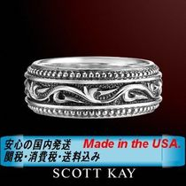SCOTT KAY(スコットケイ) 指輪・リング ☆MADE IN USA☆漢のリング☆SCOTT KAY☆KNOTTED VINE - Thin