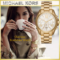 【日本未入荷】MICHAEL KORS ☆ Oversize Bradshaw Watch