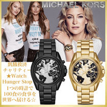 【チャリティーWatch Hunger Stop】 Michael kors Bradshaw 2種