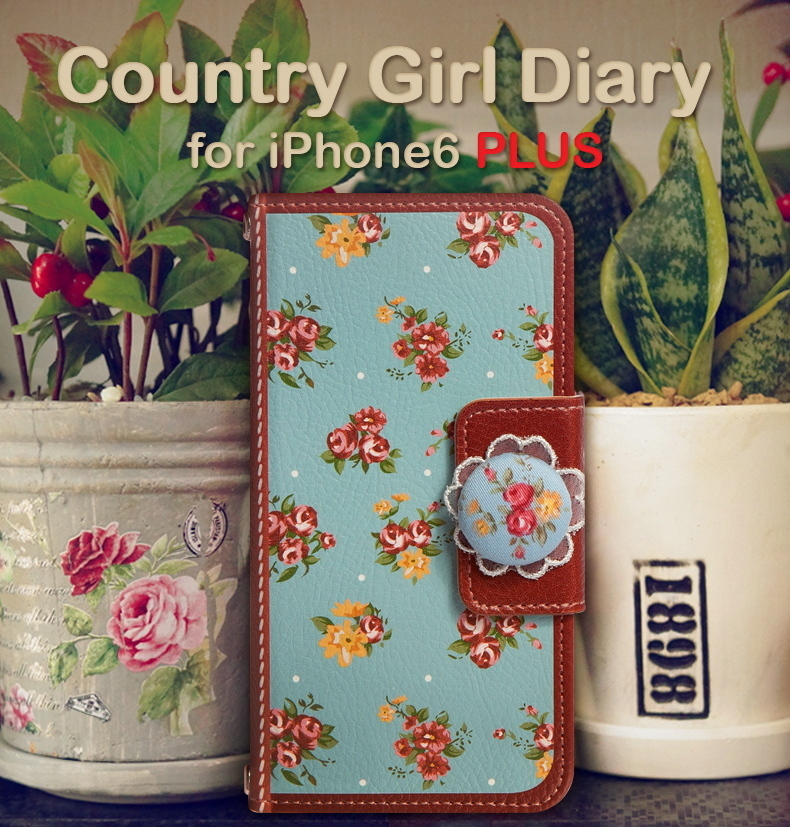 ♪iPhone6s Plus/6 Plusケース Mr.H Country Girl Diary♪